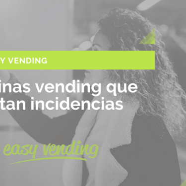 máquinas vending detectan incidencias